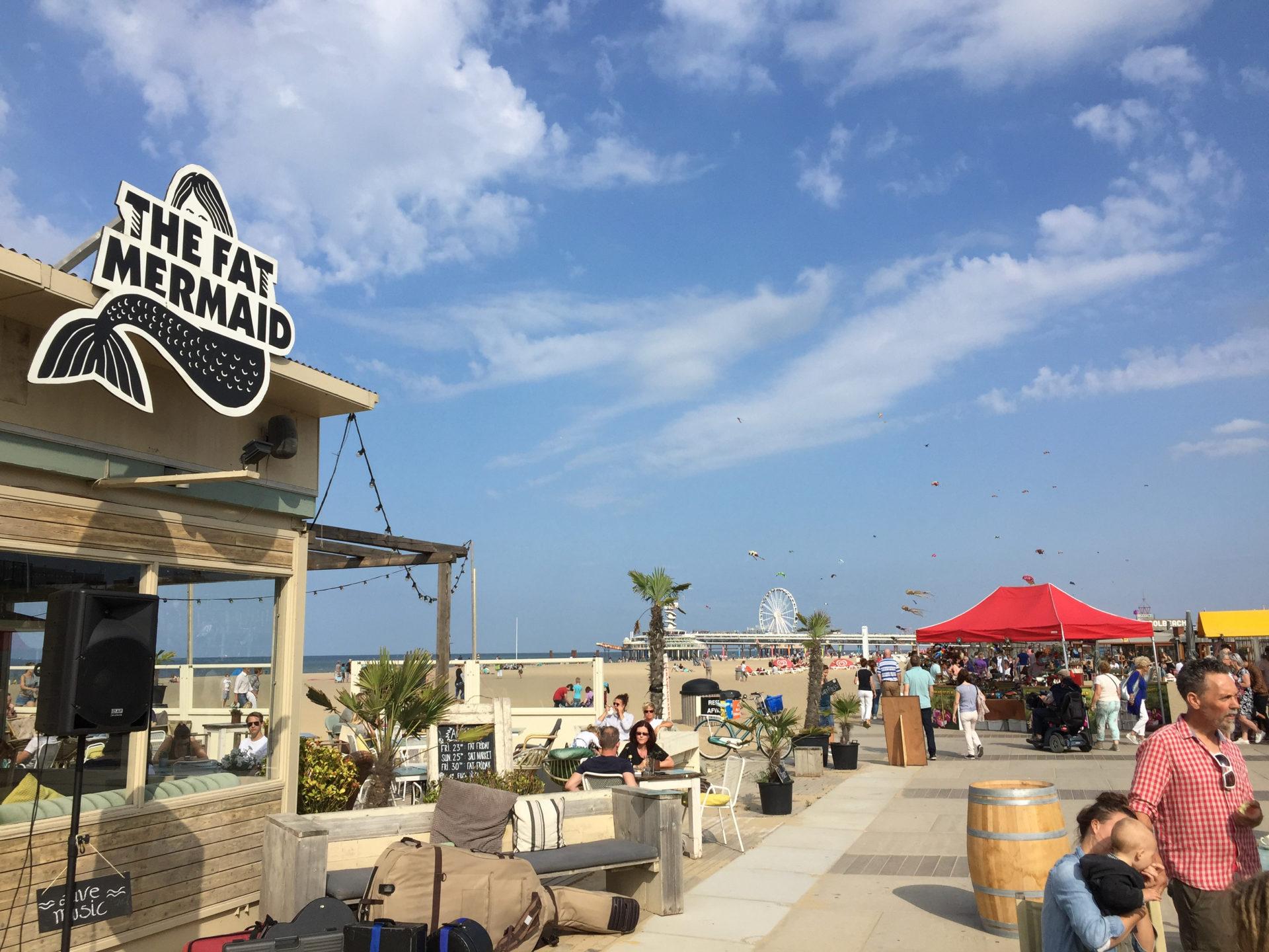 Strandpavillons in Den Haag wie The Fat Mermaid gehören zur nationalen Spitzenklasse