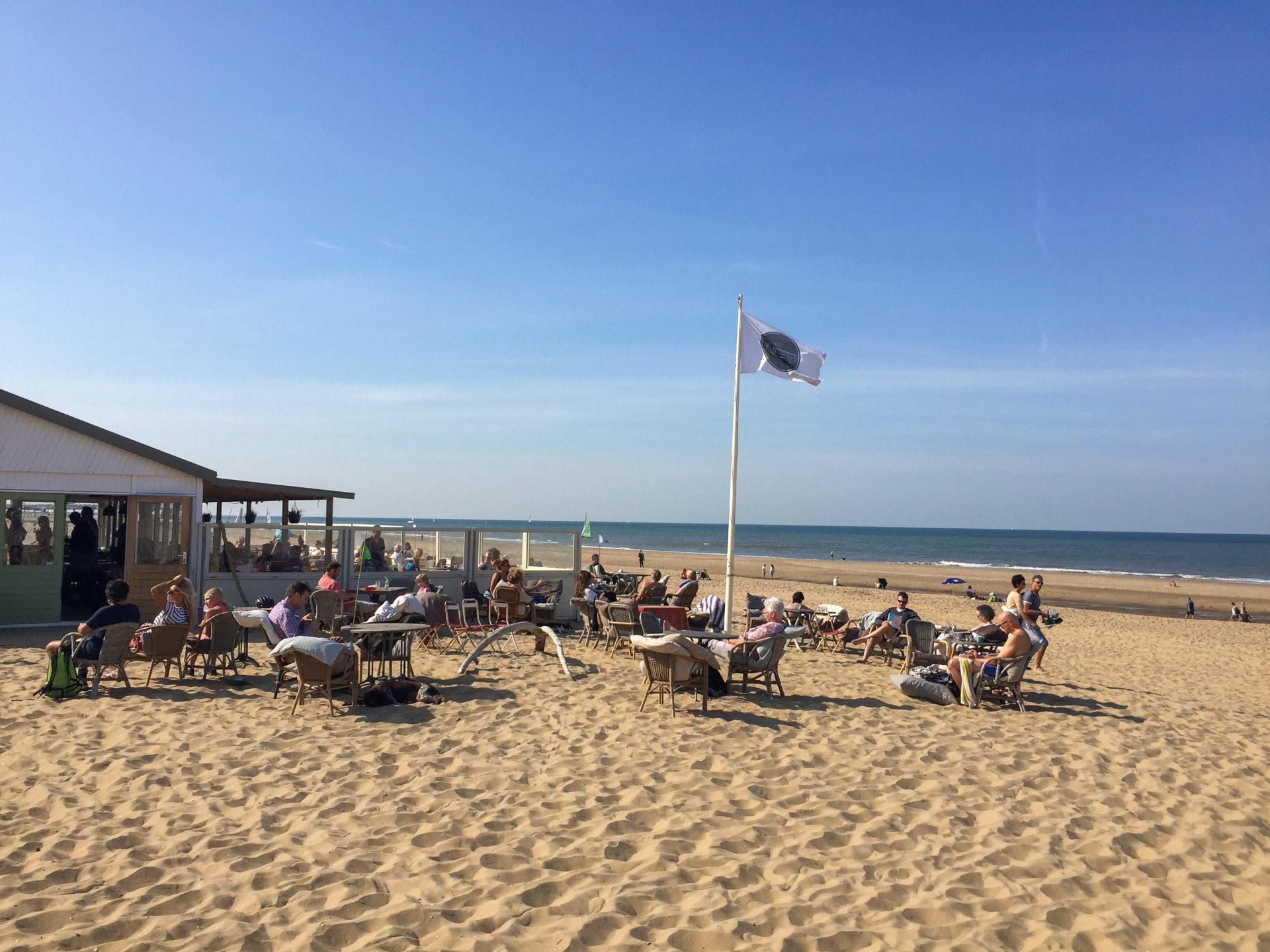 Het Puntje ist mein Favorit unter den Strandpavillons in Den Haag