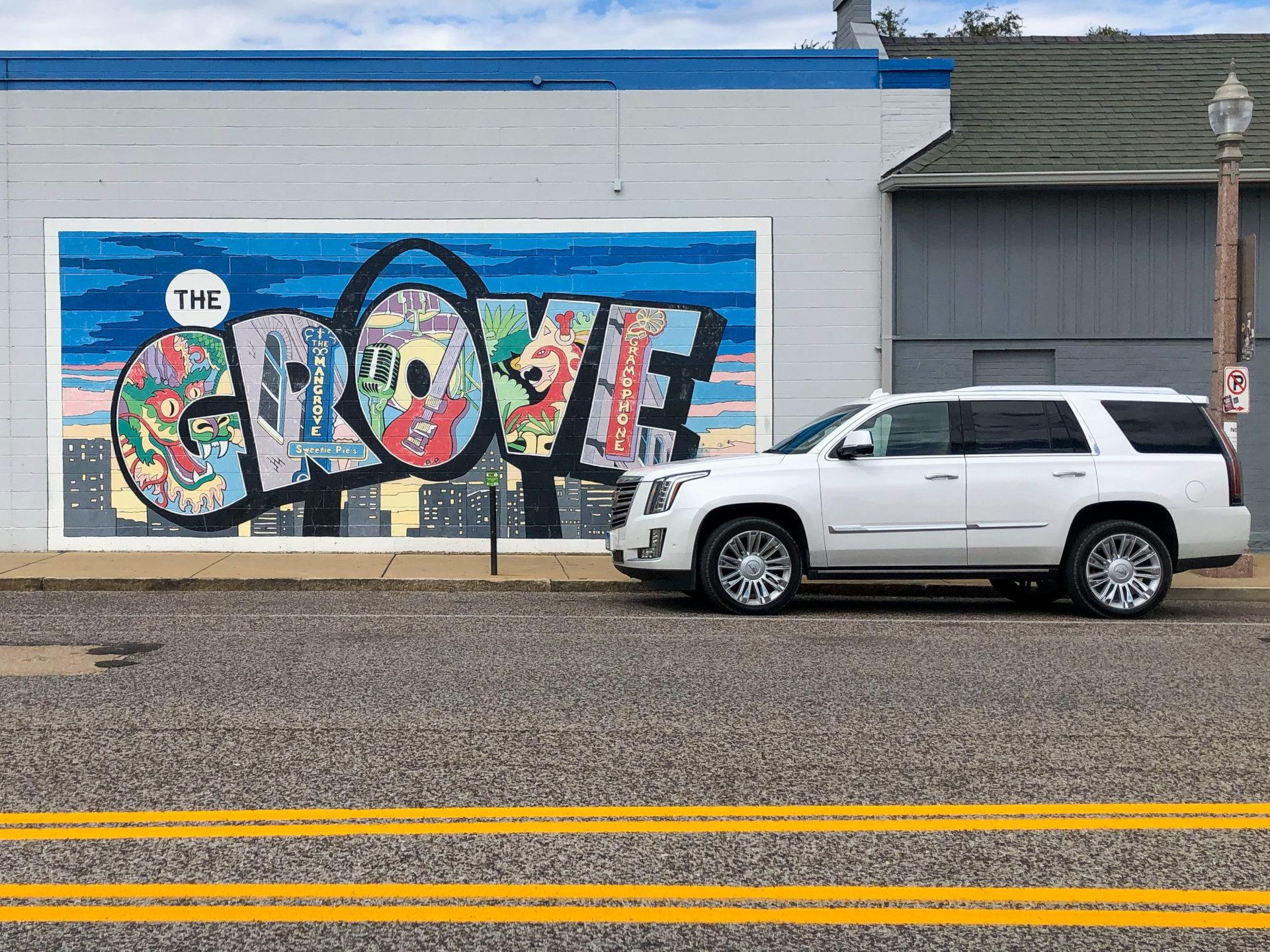Wandgemälde im Stadtteil The Grove in Saint Louis