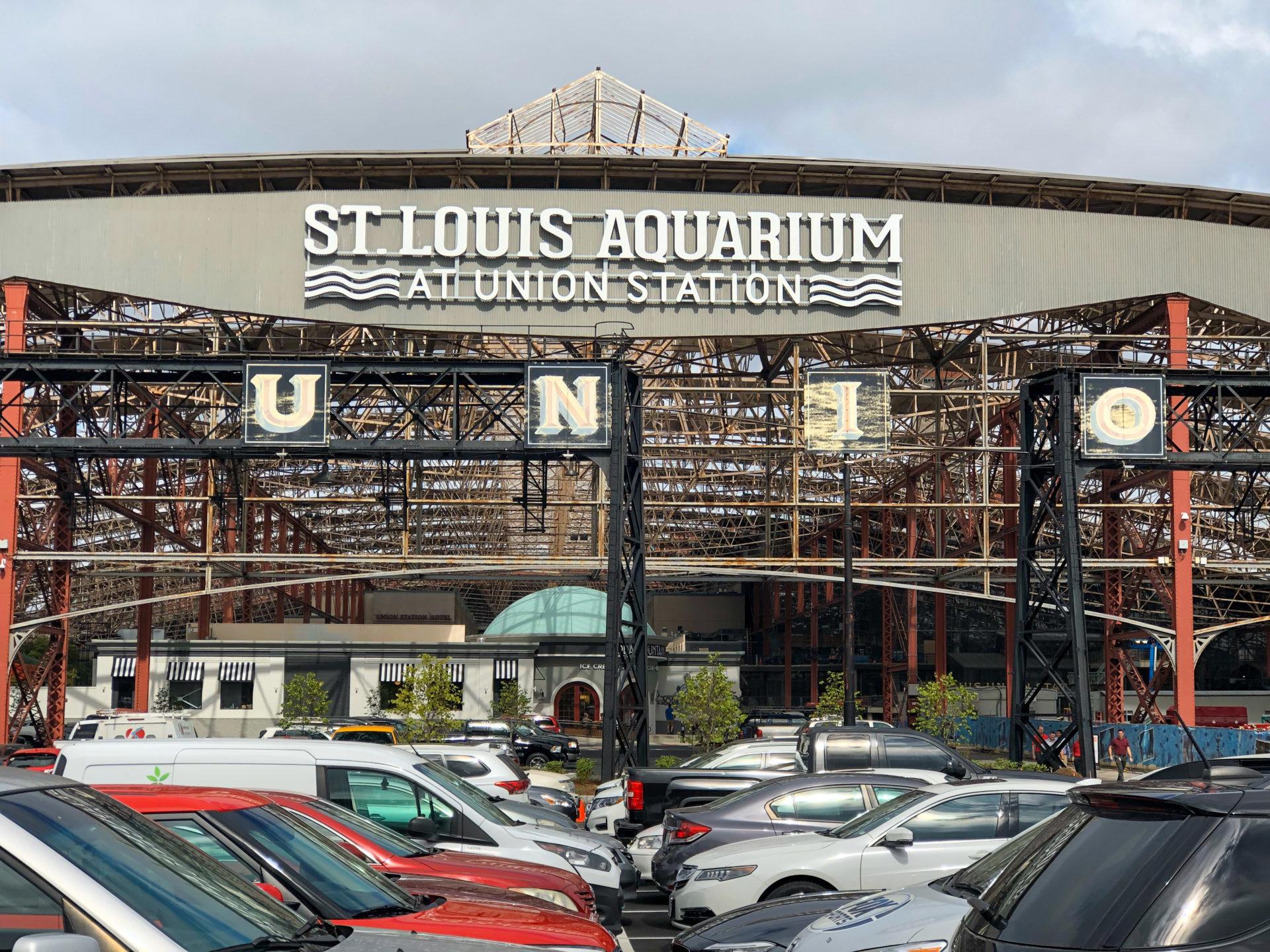Neueste Attraktion am Union Station in St. Louis ist das Aquarium