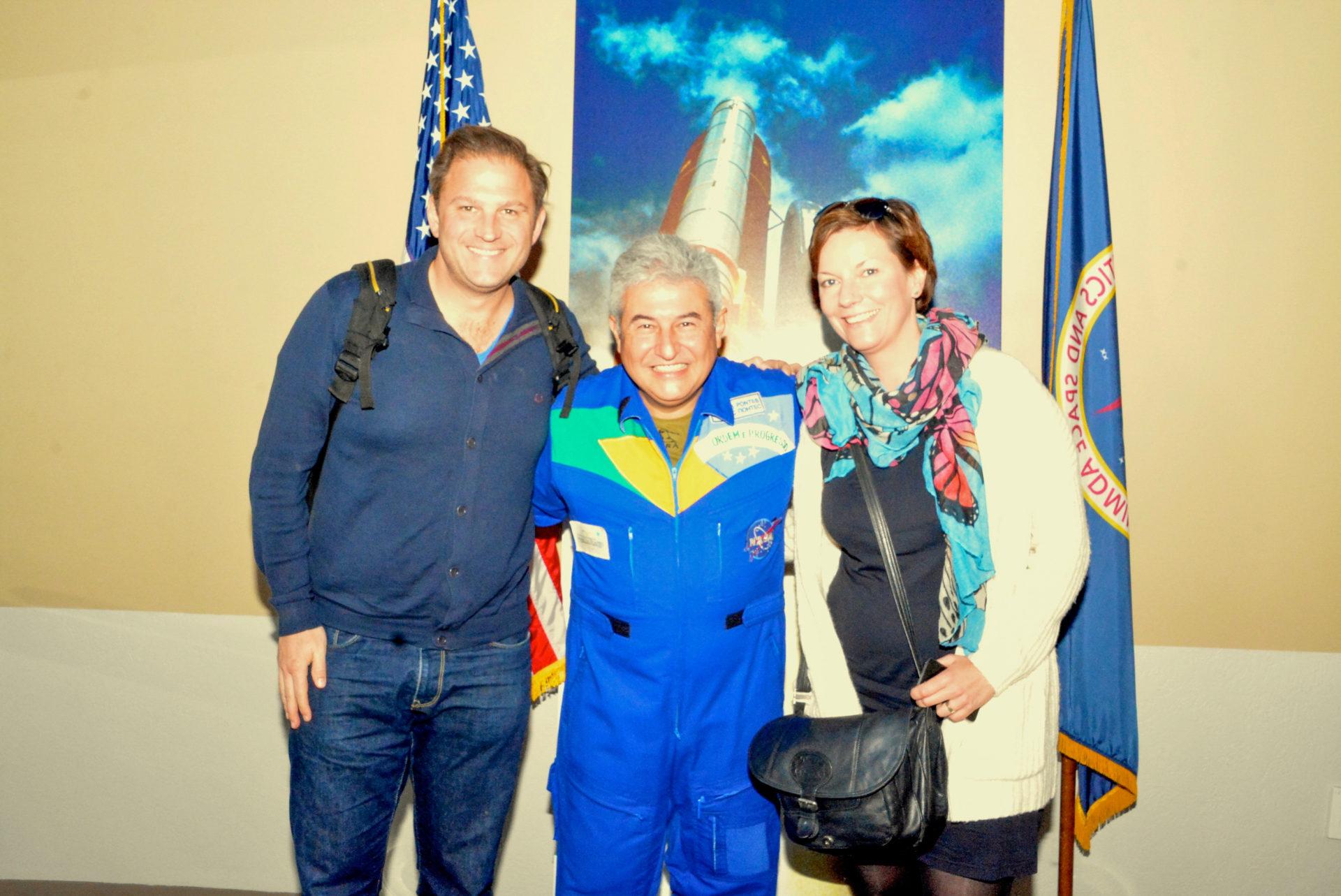 Lunch mit einem Astronauten bei der Nasa in Florida