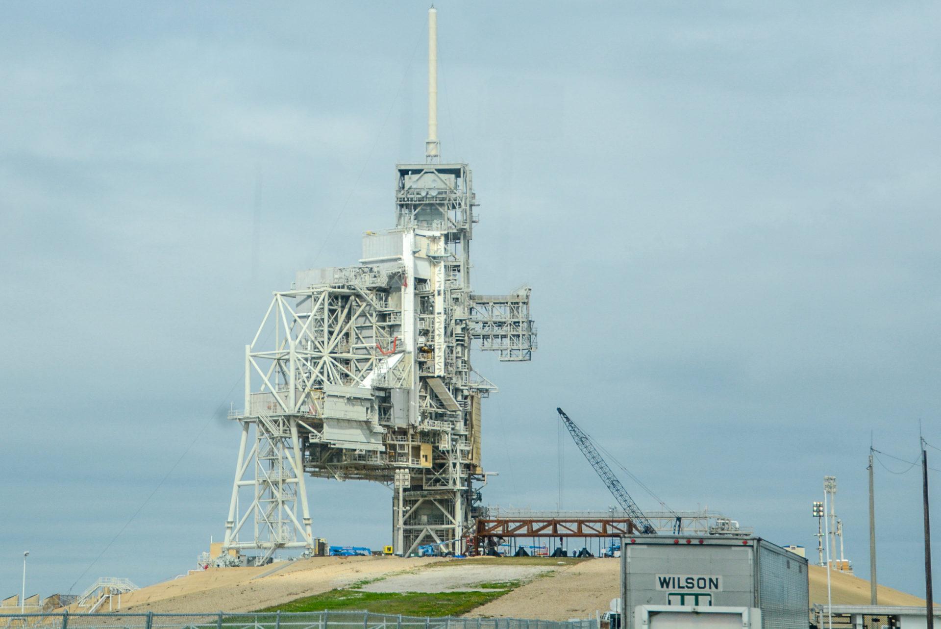 Abschussrampe für Raketen auf Cape Canaveral