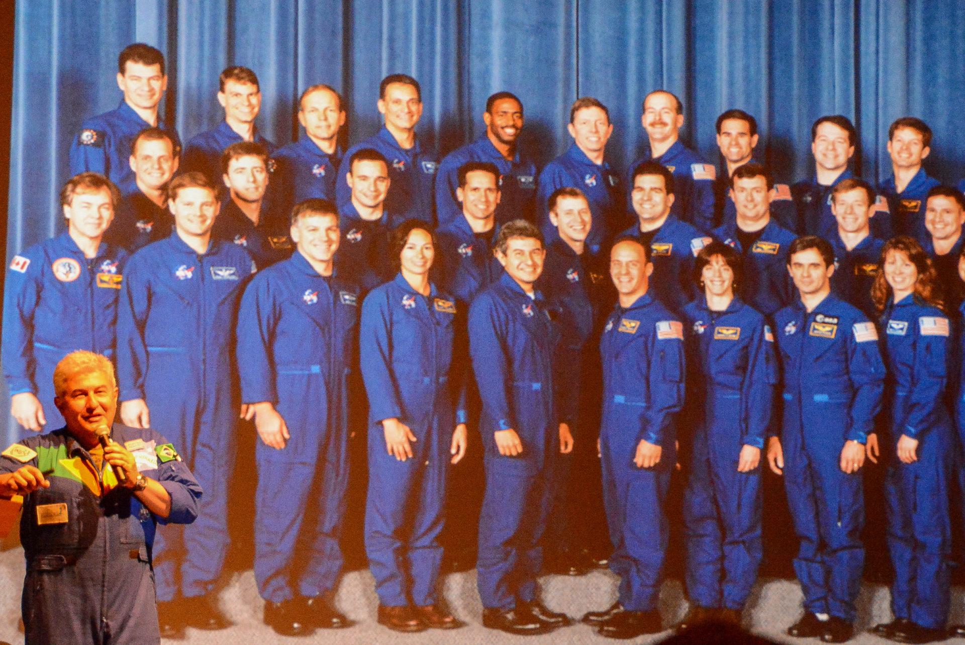 Gruppenbild der NASA-Astronauten auf Cape Canaveral