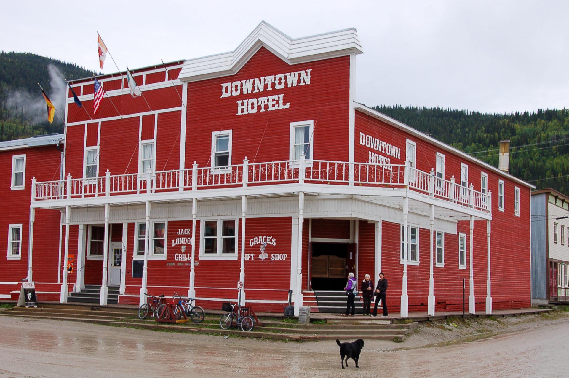 Das Downtown Hotel in Dawson City