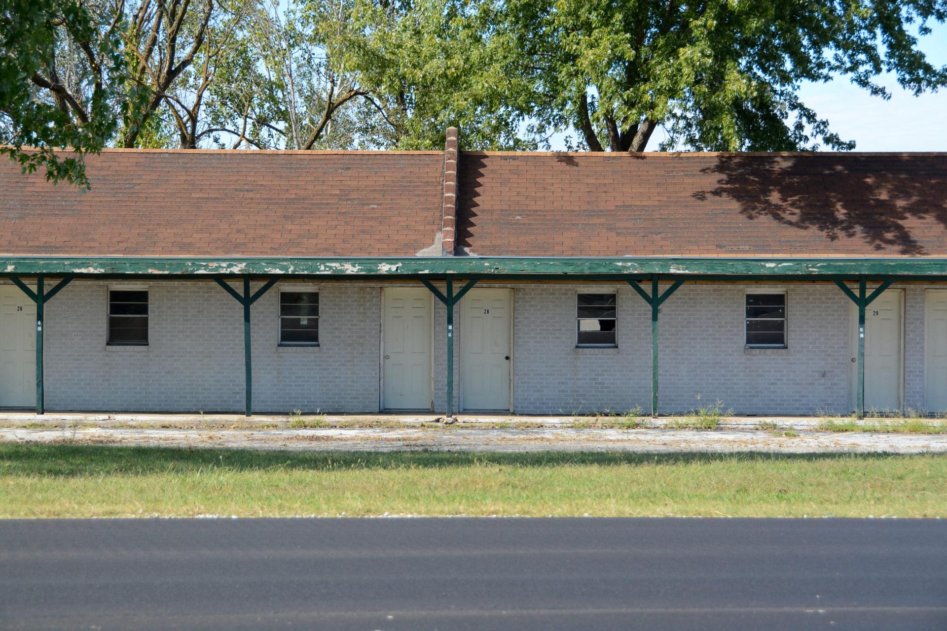 Verlassene Motel in Missouri an der Route 66