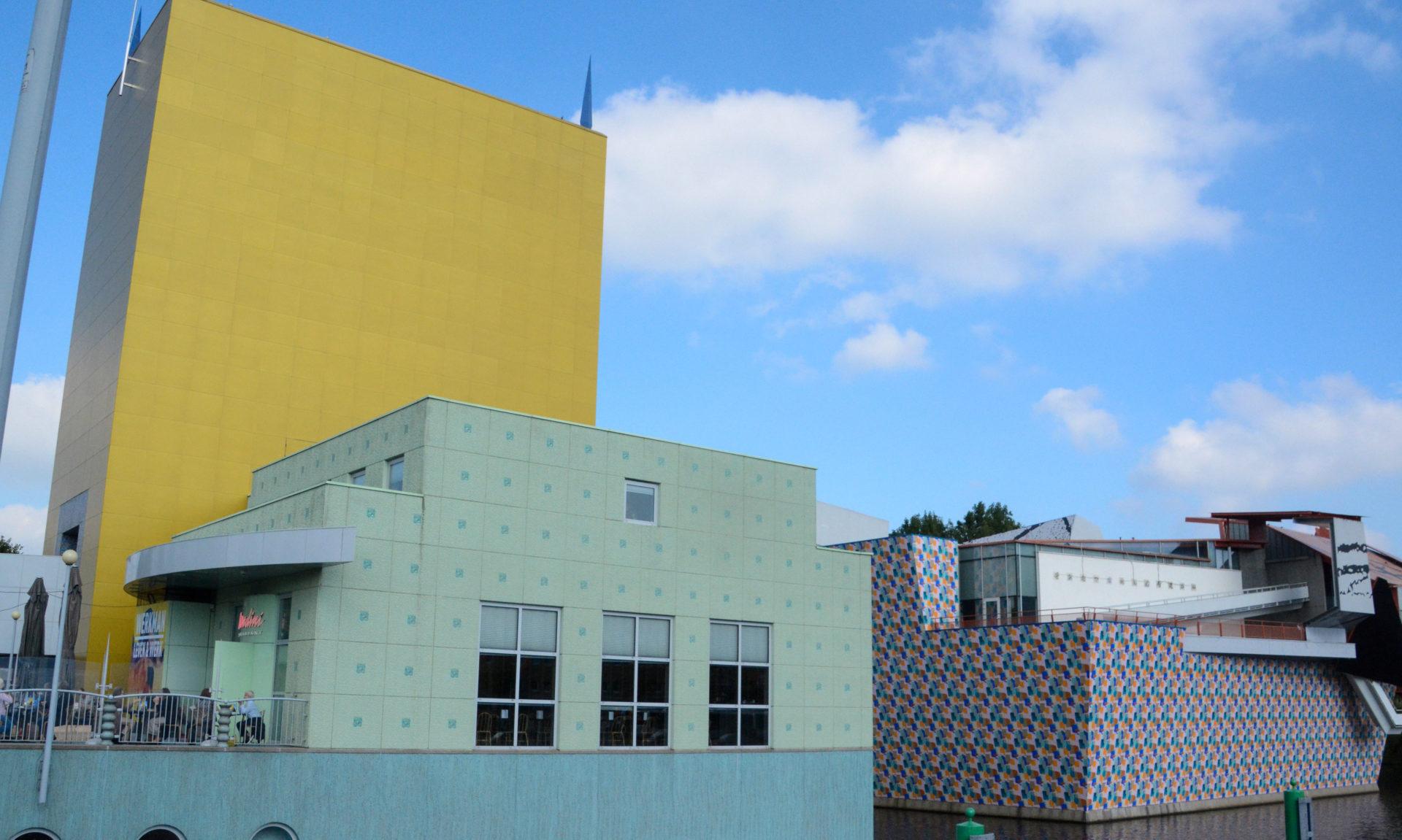Das Groninger Museum mit seiner farbenfreudigen Fassade