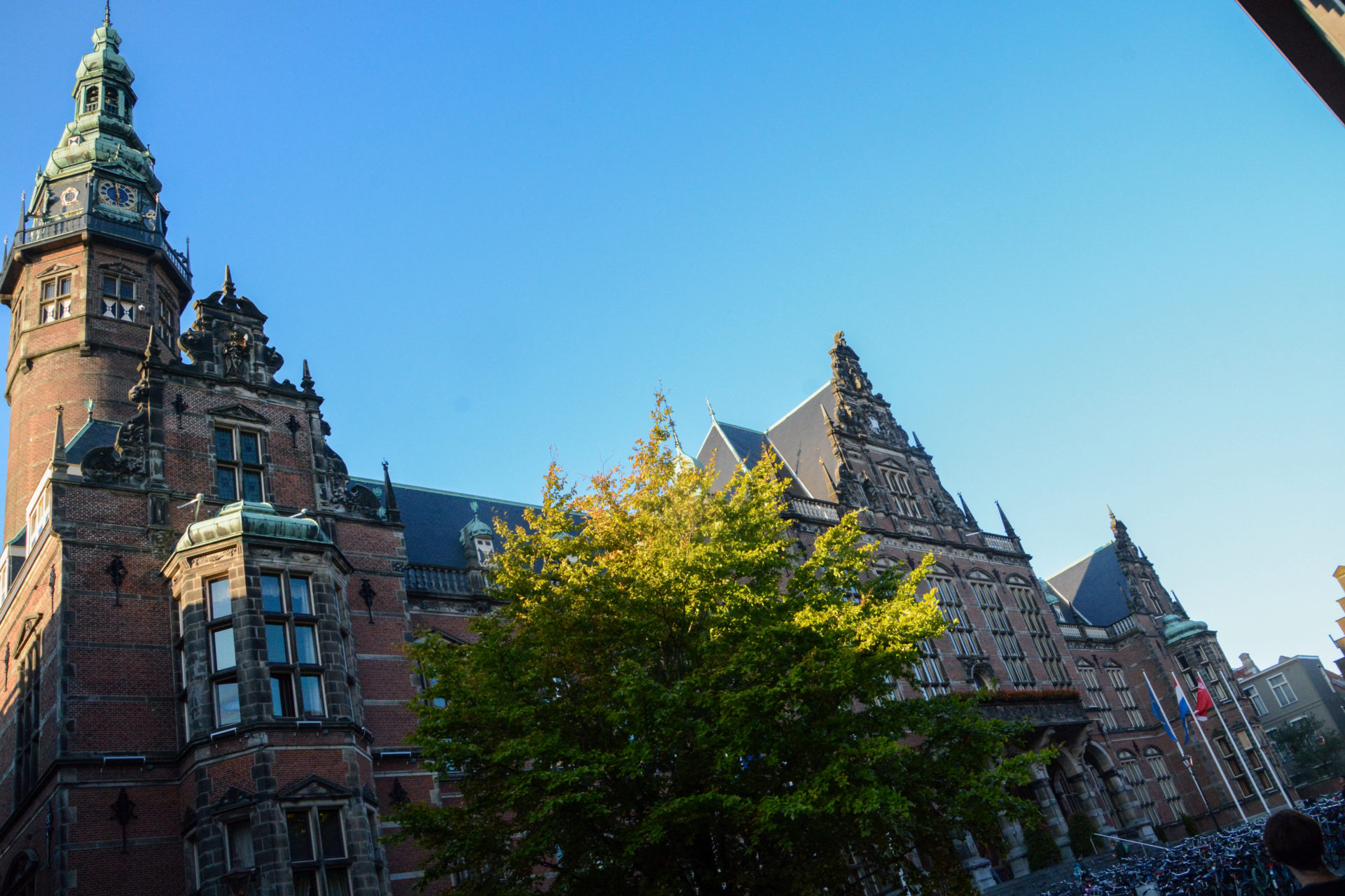 Das Hauptgebäude der Universität von Groningen