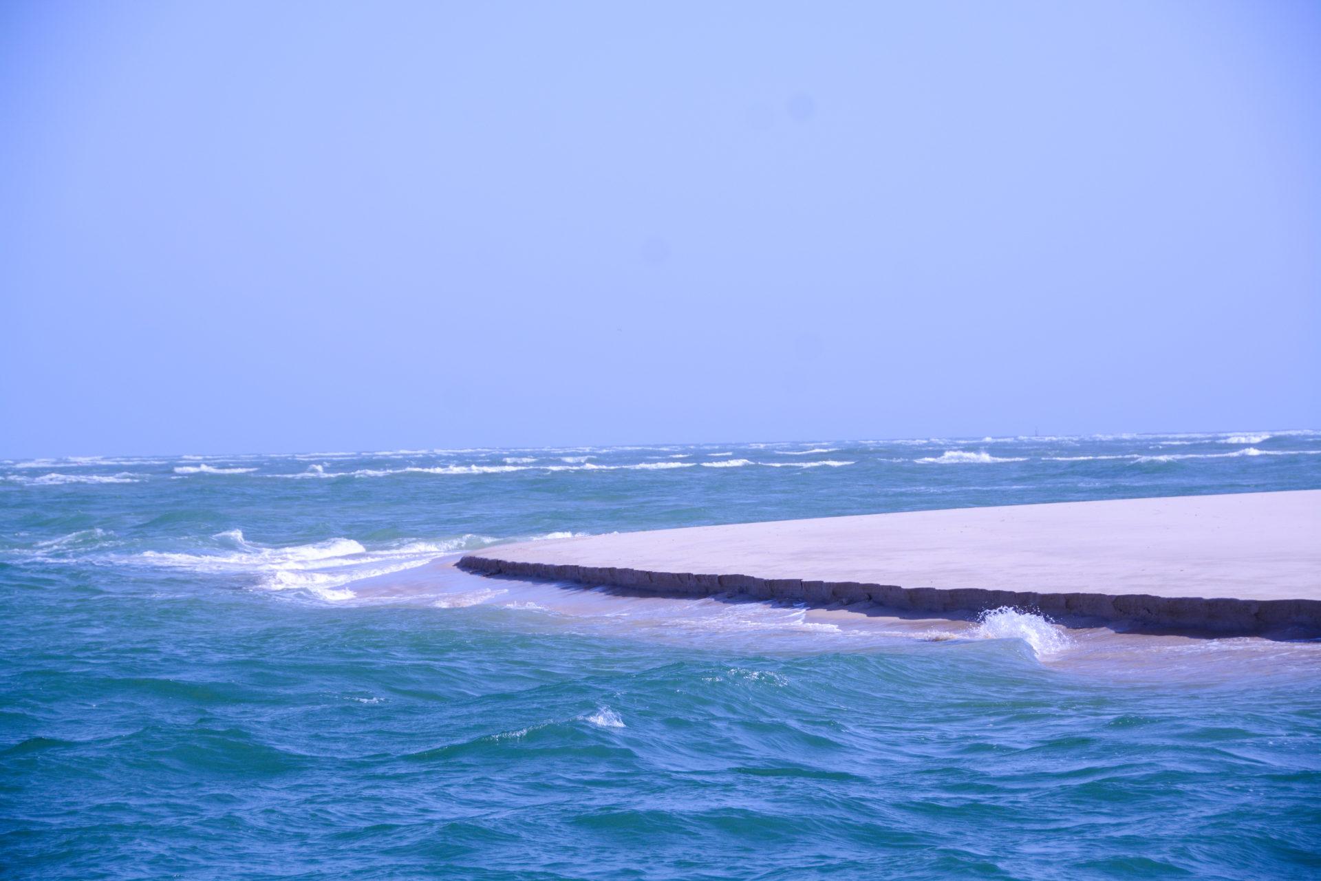 Sandbank auf der Ilha da Culatra in Portugal