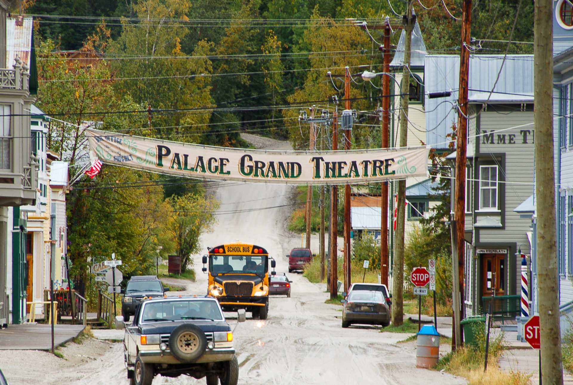 Das Palace Grand Theatre in Dawson City im Yokon