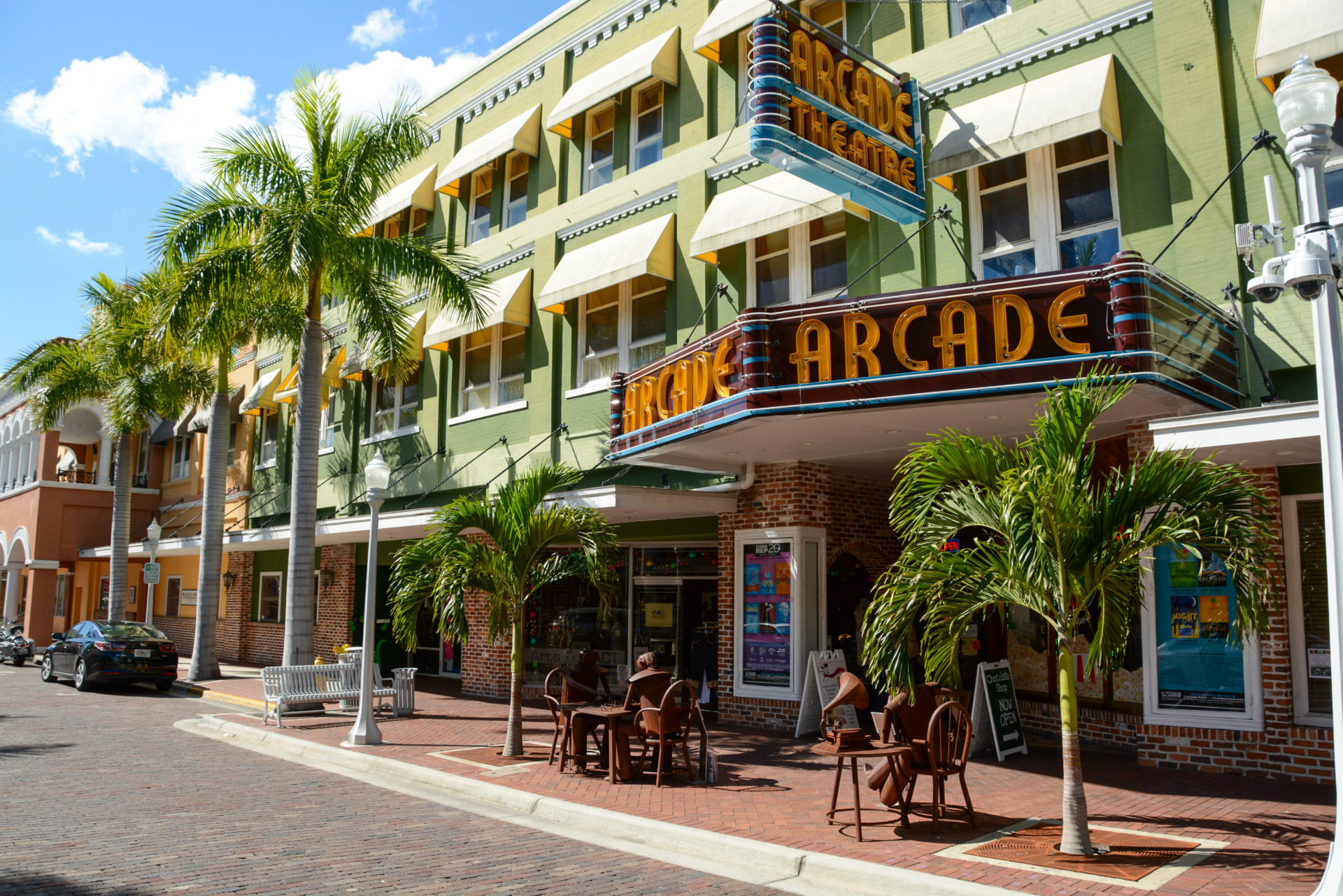 Downtown Fort Myers in Florida