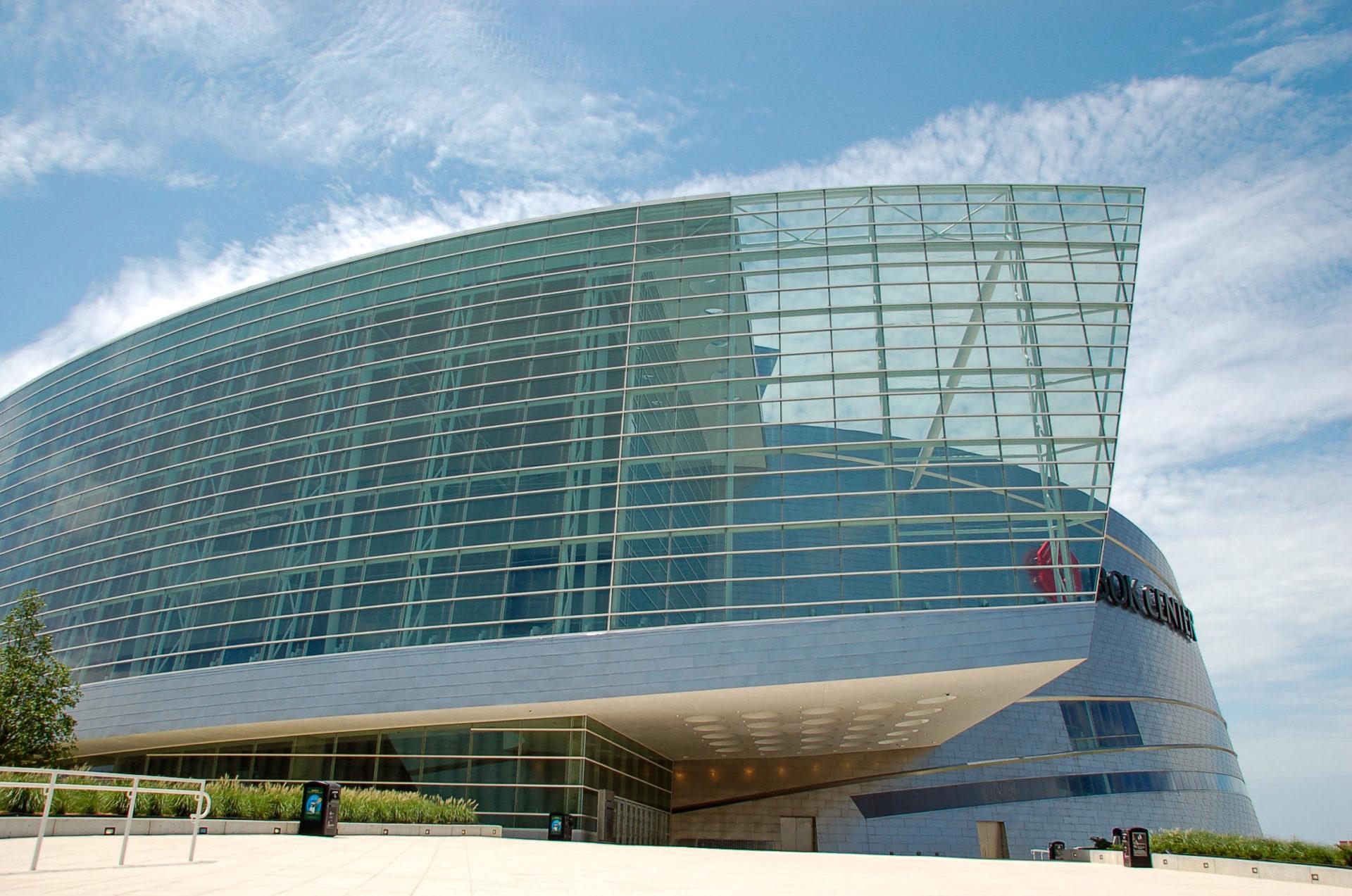 Bok Center in Tulsa von Cesar Pelli ist eine Eventhalle