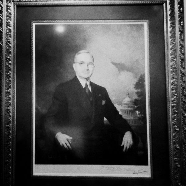 Gemälde von Präsident Harry Truman auf Key West