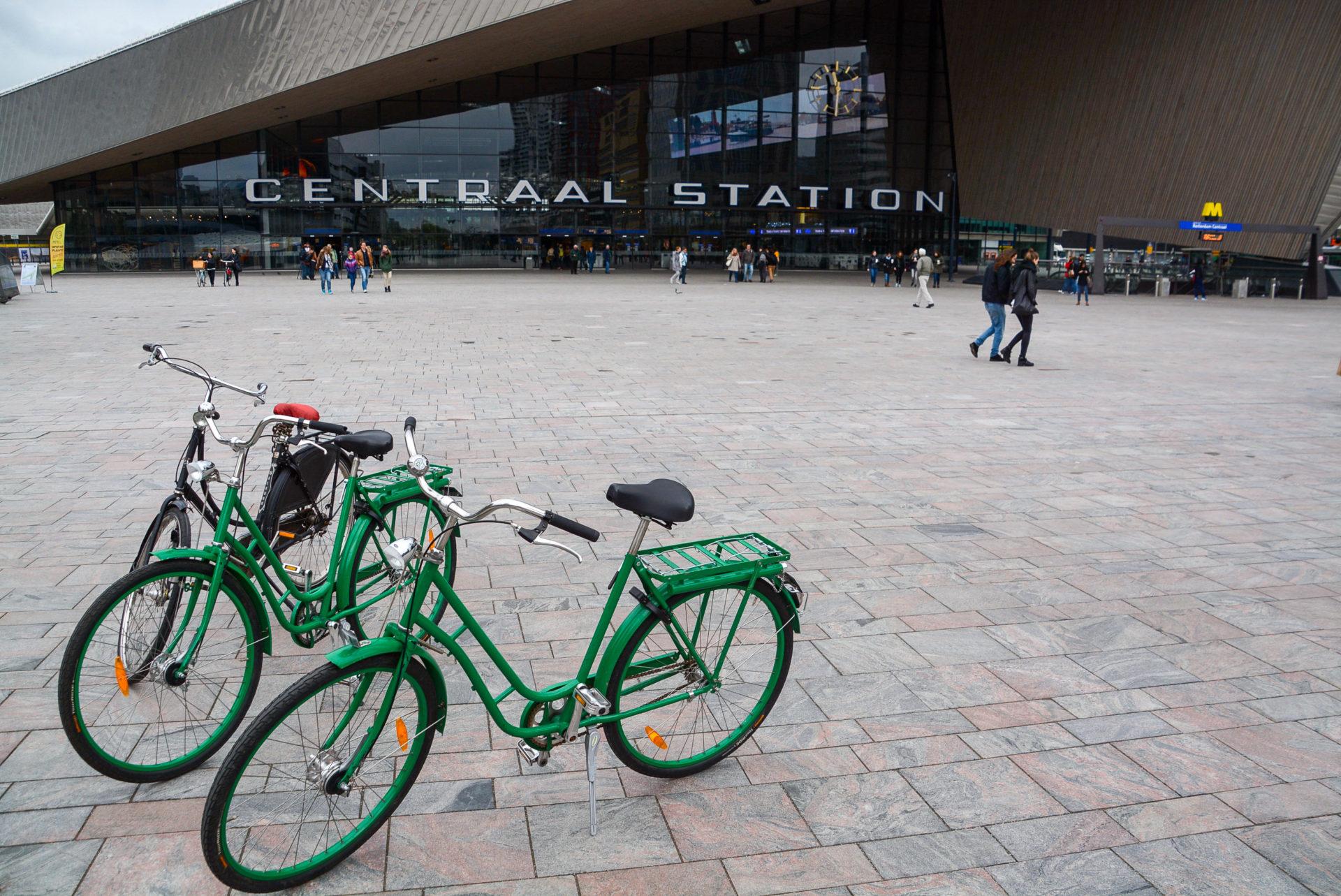 Fahrradtour durch Rotterdam