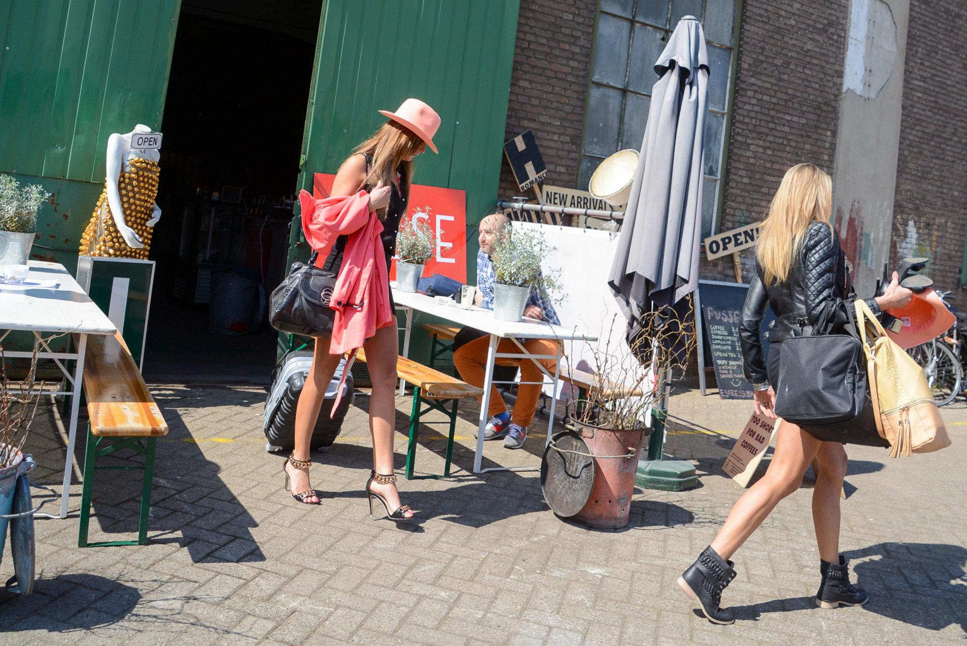 Models in de Kaap in Rotterdam
