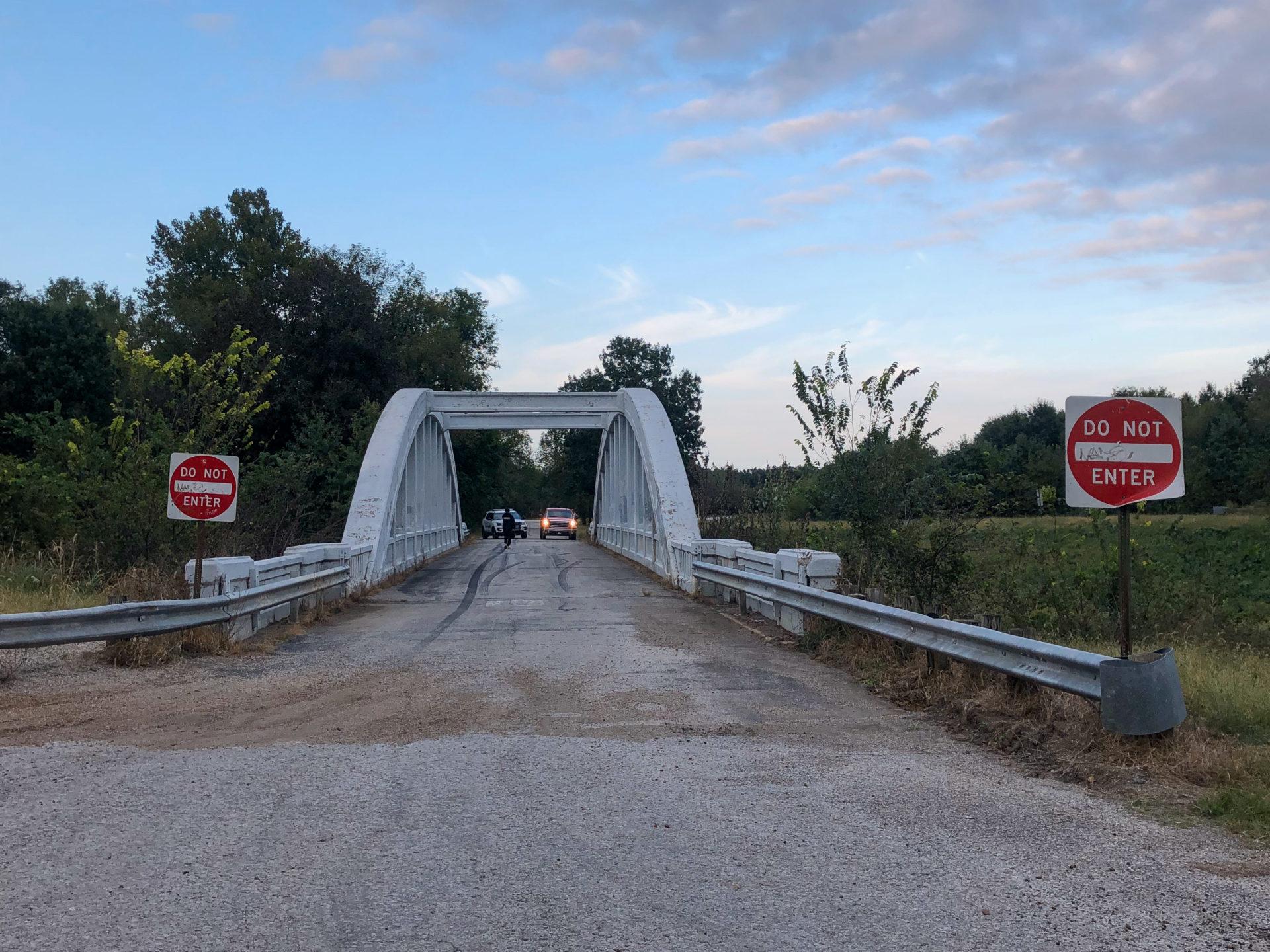 Die Rainbow Bridge an der Route 66 in Kansas.