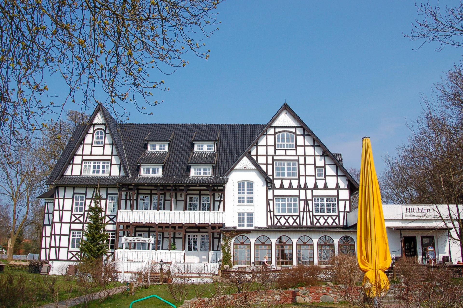 Restaurant in Fachwerkhaus auf Hiddensee