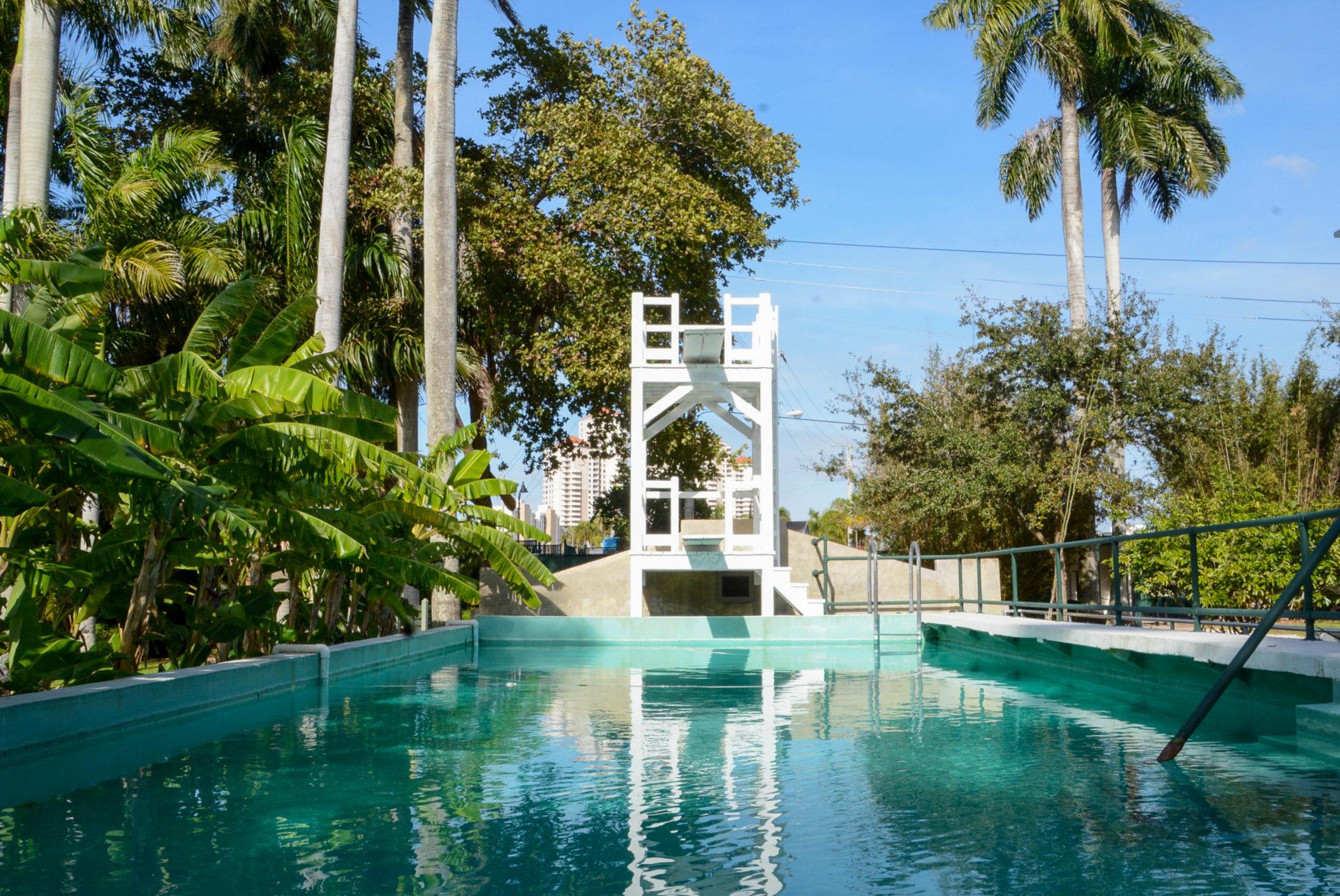 Swimming Pool von Thomas Edison auf dem Estate in Fort Myers
