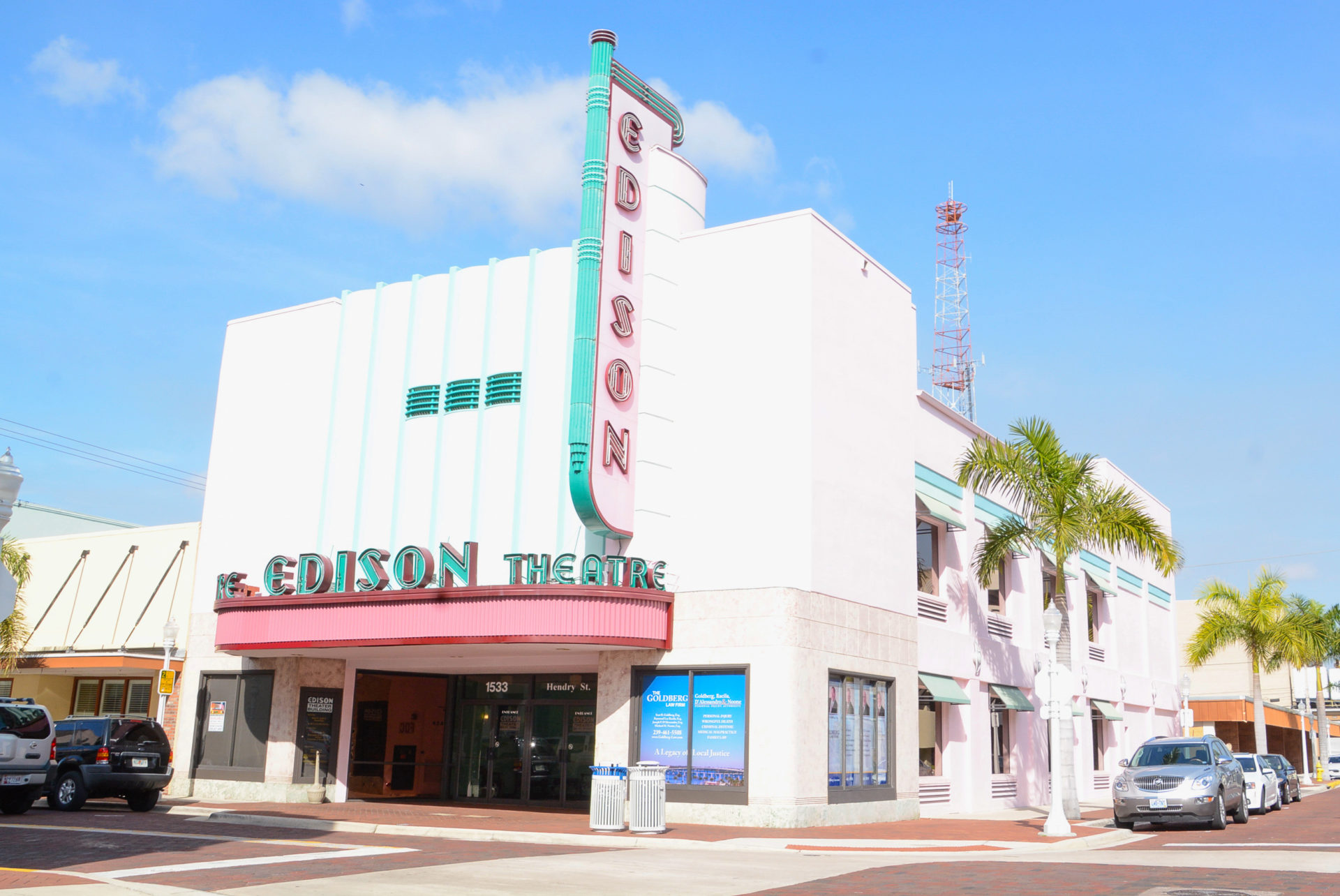 Das Edison Theatre in downtown Fort Myers
