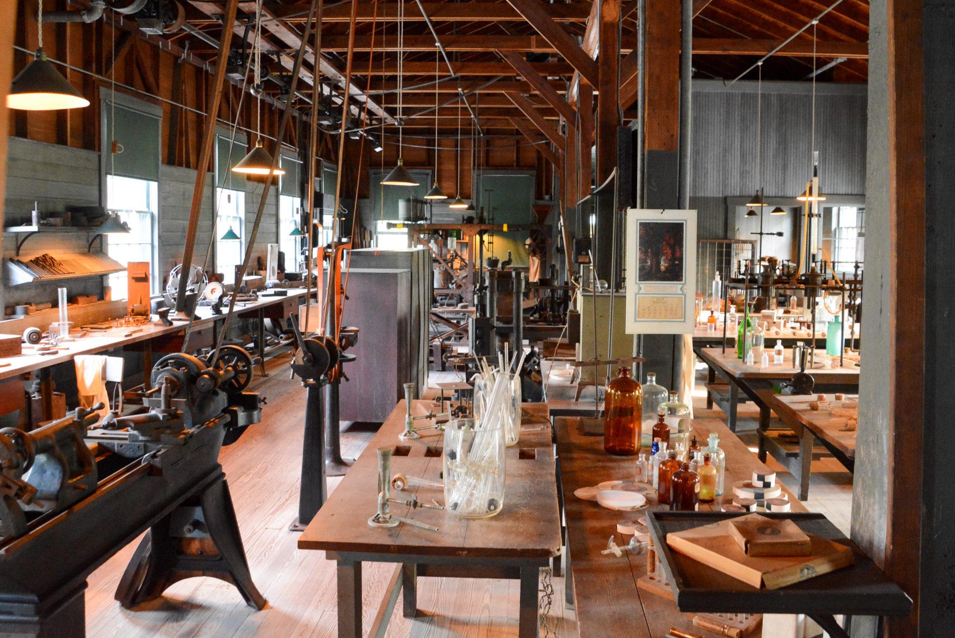 Werkstatt von Thomas Edison in Fort Myers in Florida
