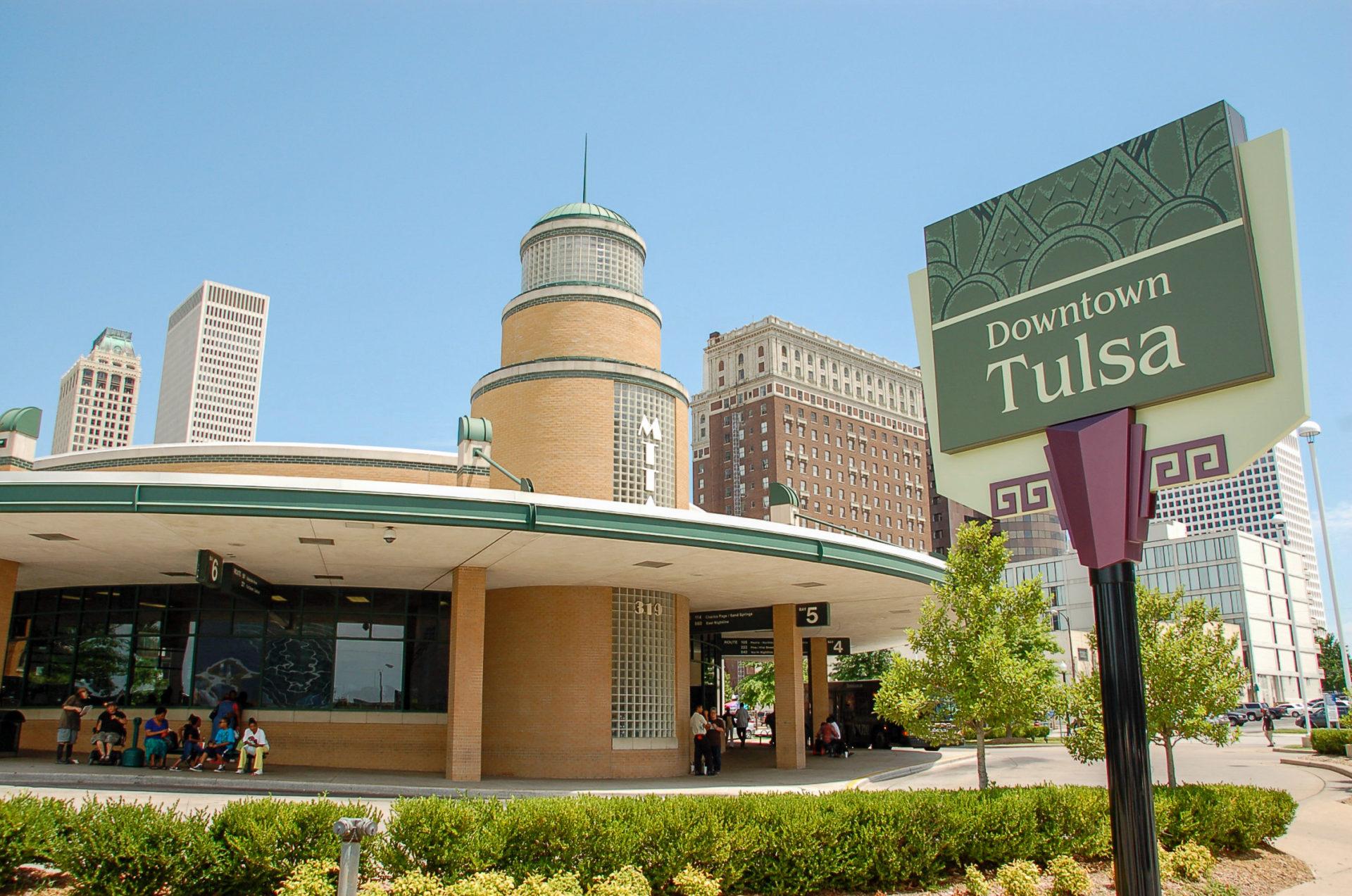 Art-déco-Bauten in Downtown Tulsa
