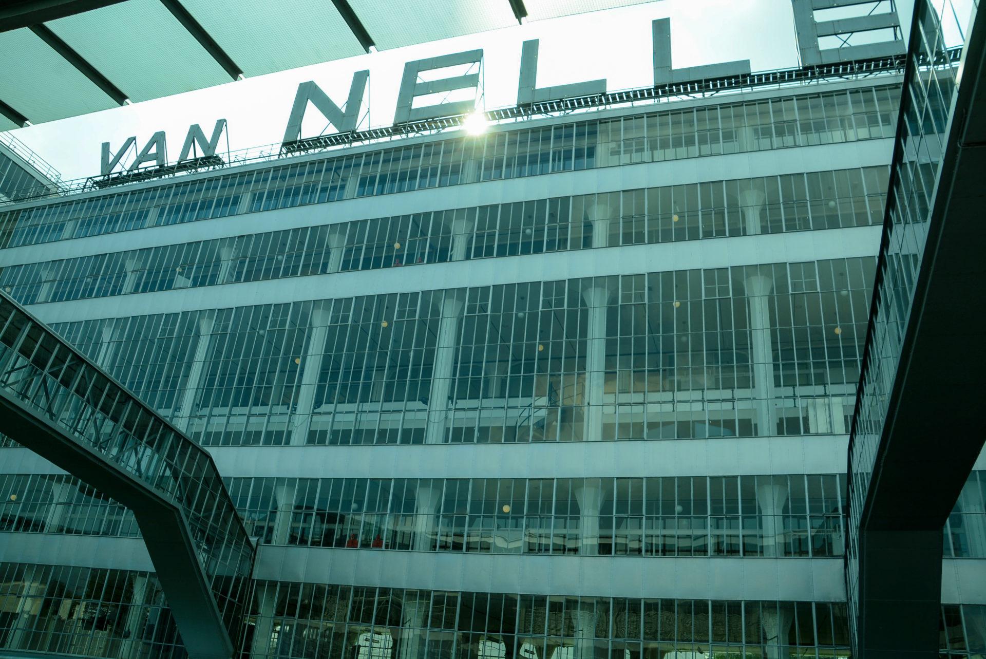 Die Van Nelle Fabrik in Rotterdam ist Weltkulturerbe der Unesco
