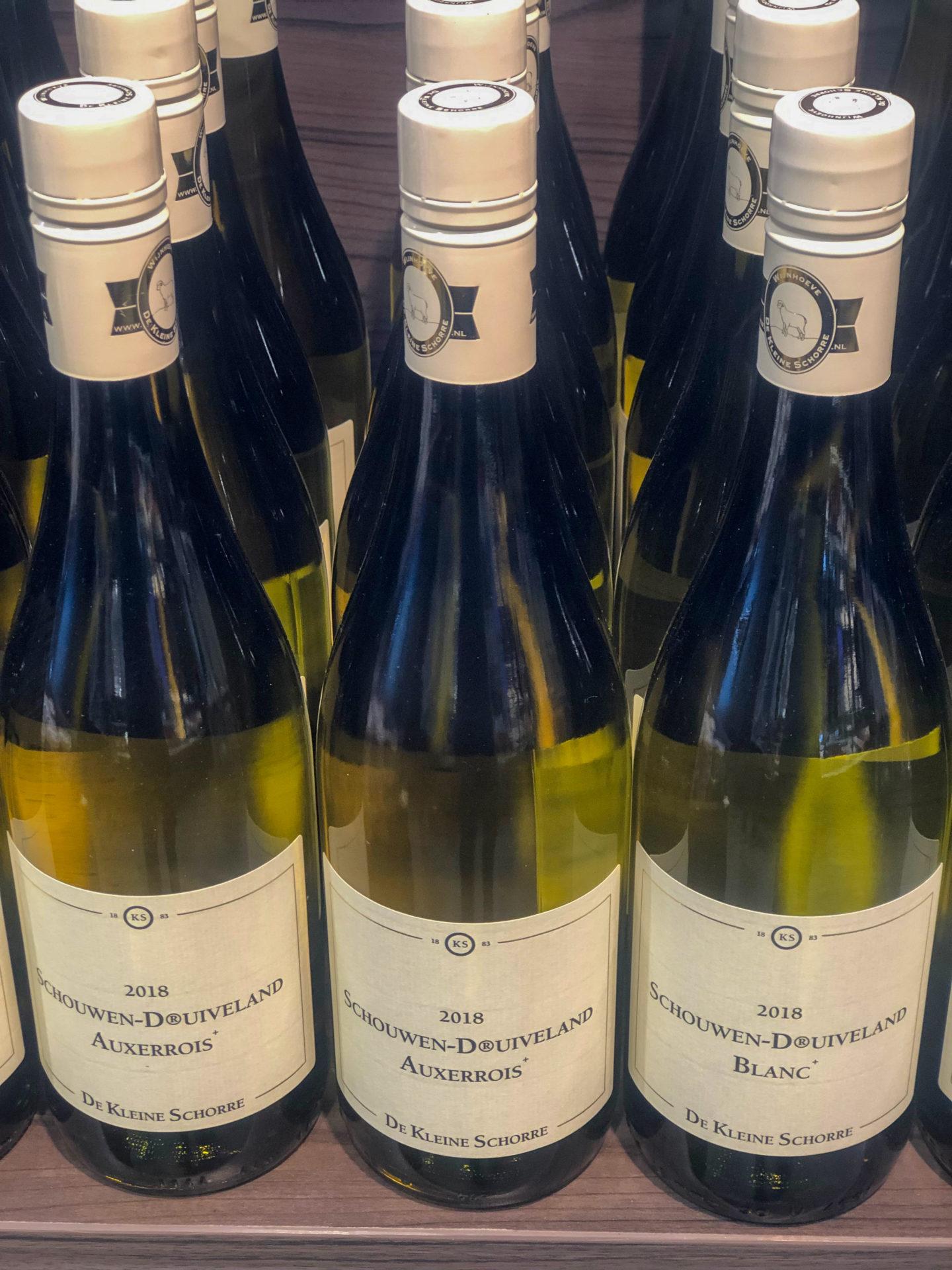 Wein aus Zeeland ist richtig gut, wie De Kleine Schorre beweist